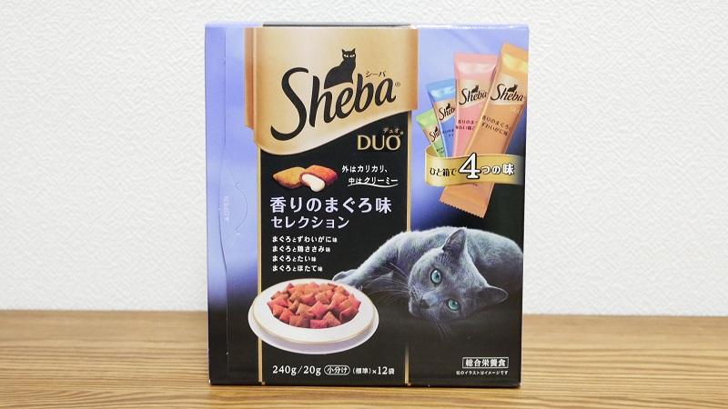 シーバ (Sheba) デュオ 成猫用 香りのまぐろ味セレクション 口コミ評判の写真